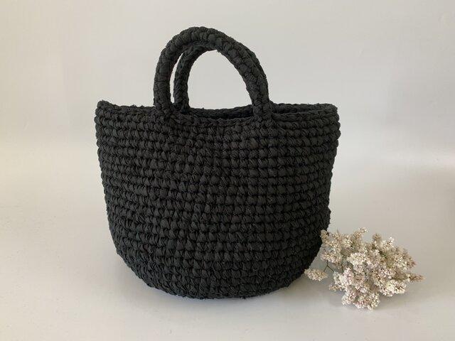 裂き編みバッグ マルシェsmallサイズの画像1枚目