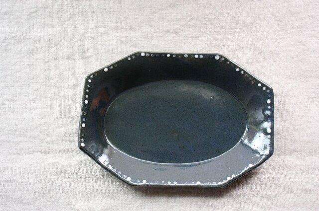 水玉長角皿の画像1枚目