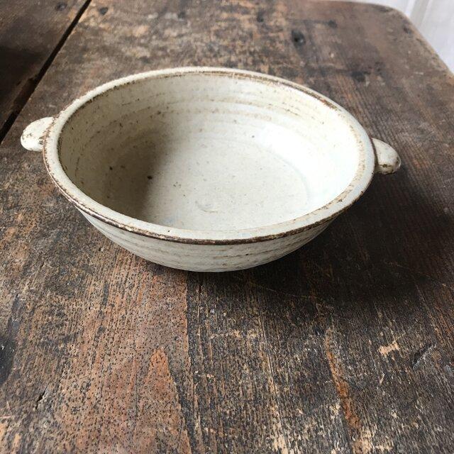 耐熱皿(小) (灰釉)の画像1枚目