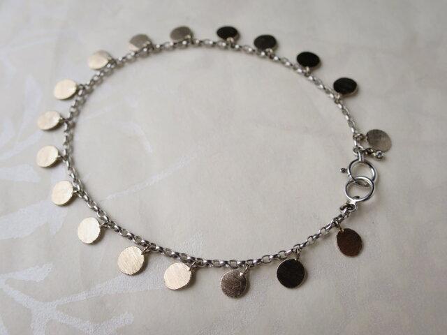 K18WG Medal Braceletの画像1枚目