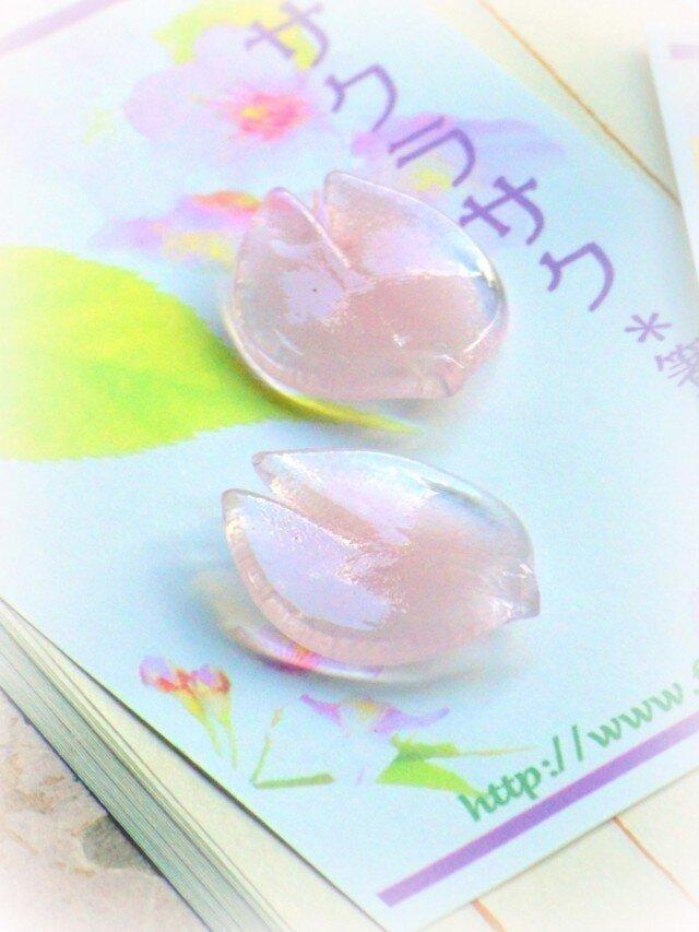 桜のはしおき「サクラサク」パステル2pの画像1枚目