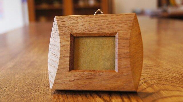 楢の木のミニ額 (MG2)の画像1枚目