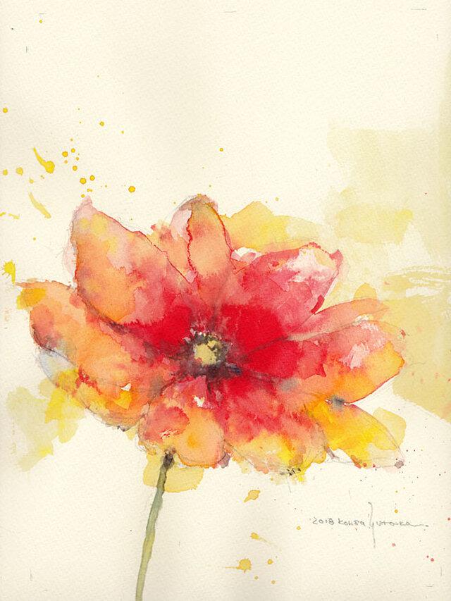 Flower 1 (額縁付き)の画像1枚目