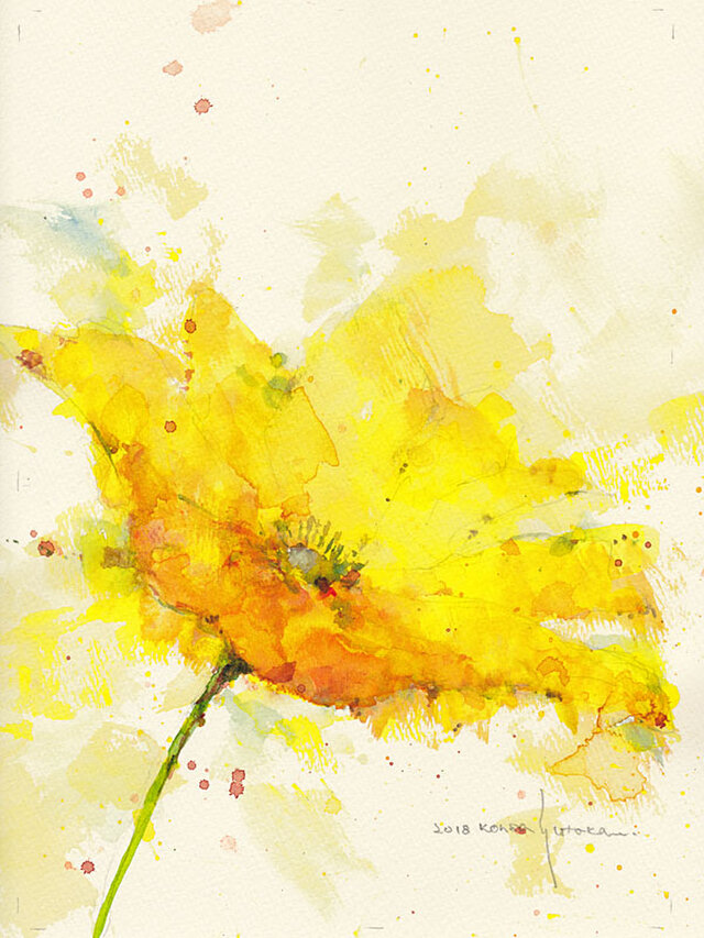 Flower 4 (額縁付き)の画像1枚目