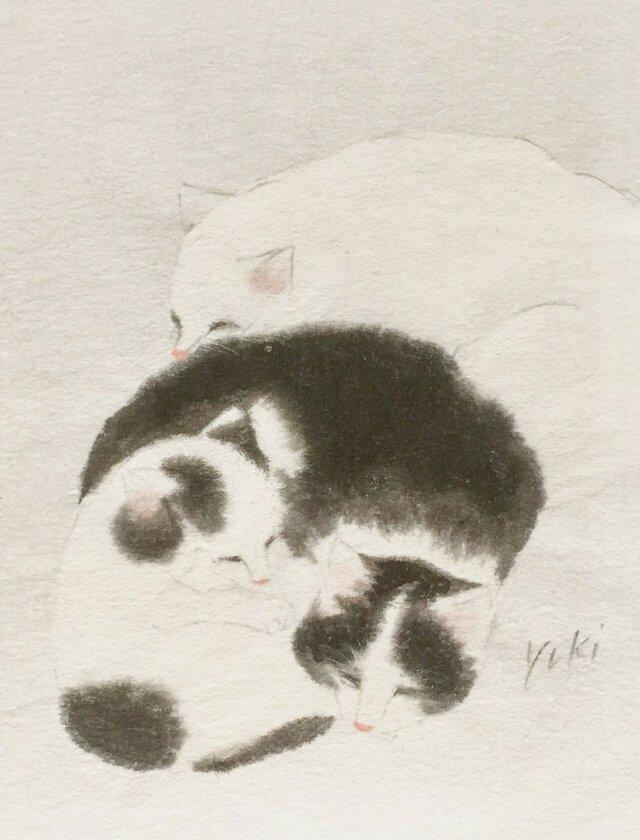 猫の絵の画像1枚目