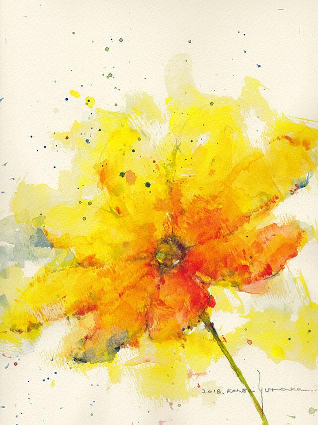 Flower 6 (額縁付き)の画像1枚目