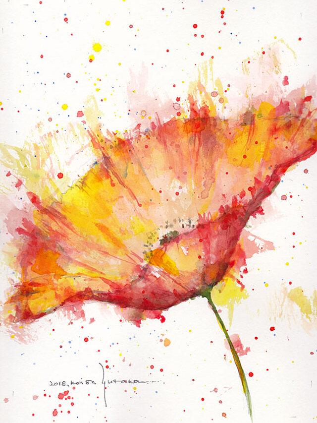 Flower 7 (額縁付き)の画像1枚目