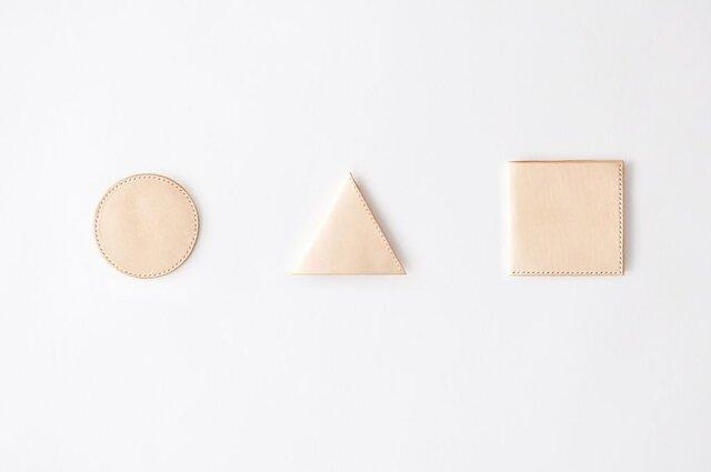 Circle-Triangle-Square set / 図形シリーズセット (ri-000-3s-NT)の画像1枚目