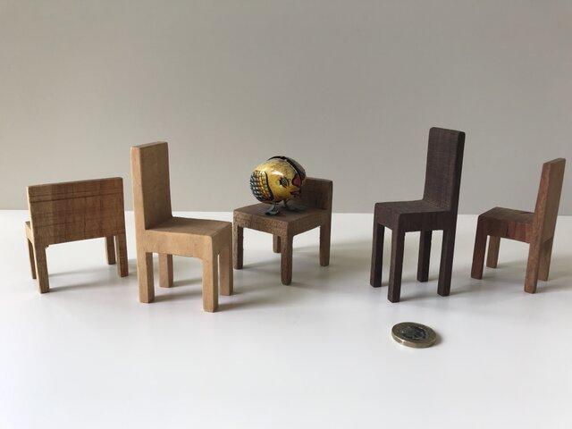 椅子置物 背付き① 5個セットの画像1枚目