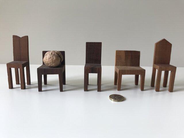 椅子置物 背付き② 5個セットの画像1枚目