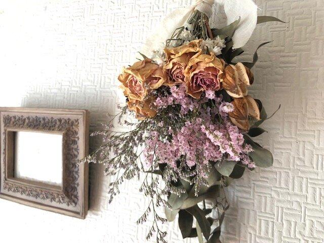 Antique Roses Bouquet LLサイズ  ウェルカムスペースの画像1枚目