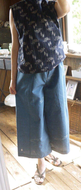 着物サマーウールからパンツの画像1枚目