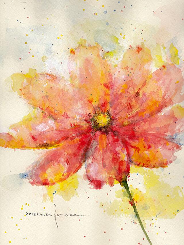 Flower 9 (額縁付き)の画像1枚目