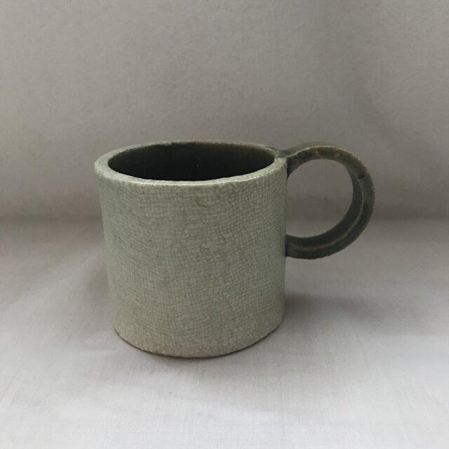 布目模様のマグカップ②の画像1枚目
