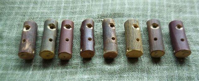 トンビ笛 Hawk whistle ~鳥笛シリーズ~ いろいろな雑木の画像1枚目
