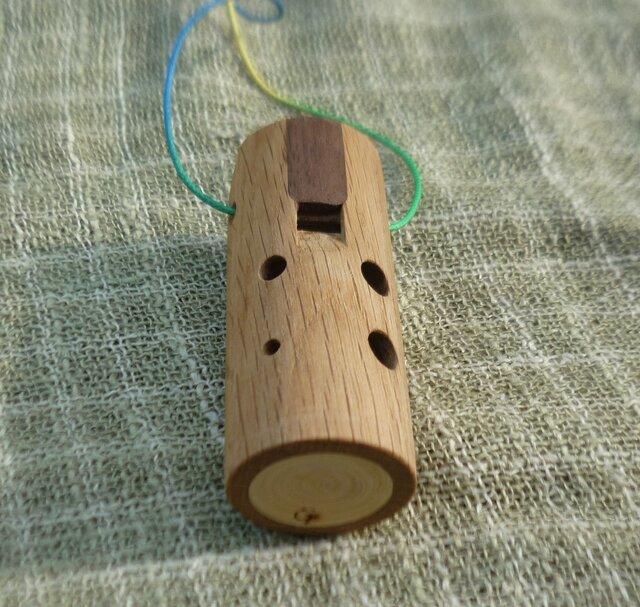 木のオカリナ ナラ アルト管G管の画像1枚目