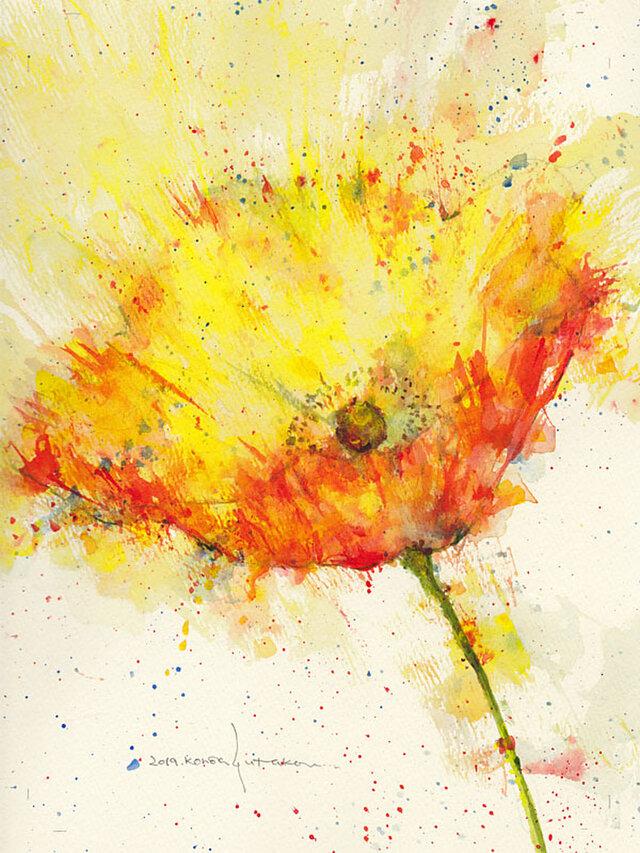 Flower 12 (額縁付き)の画像1枚目