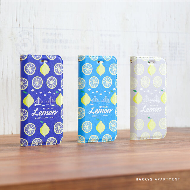 iphone12 ケース 手帳型 瀬戸内レモン 2 スマホケースの画像1枚目