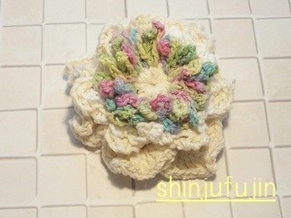 【Sold】お花畑のコサージュ27の画像1枚目