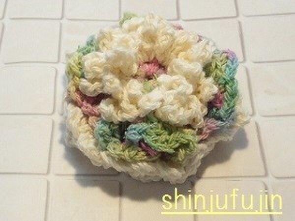 【Sold】お花畑のコサージュ28の画像1枚目