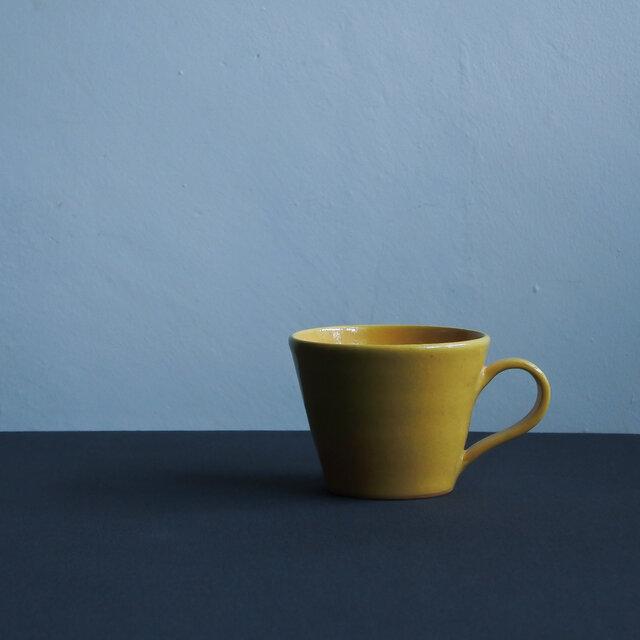 チョコマグ 黄釉の画像1枚目