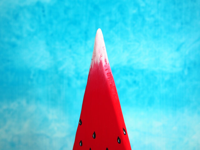 赤富士西瓜の画像1枚目