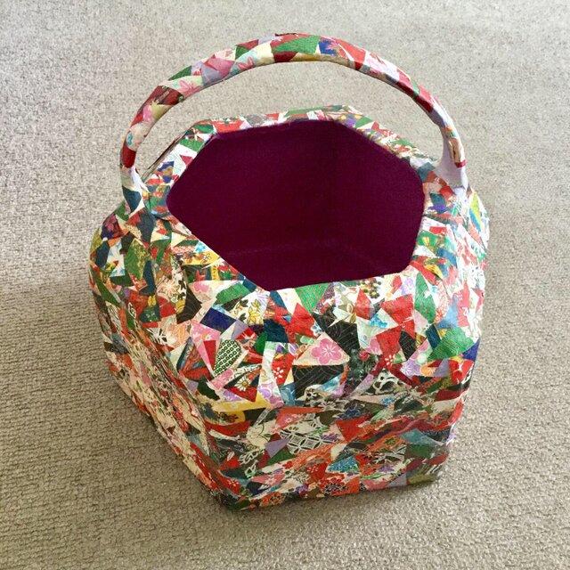 リサイクル和紙の小物入れの画像1枚目