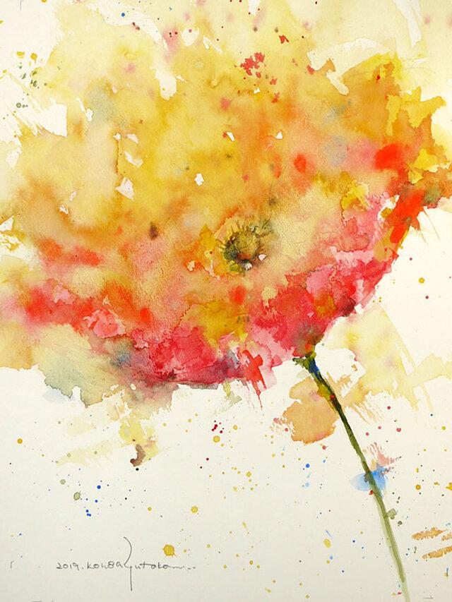 Flower 17 (額縁付き)の画像1枚目
