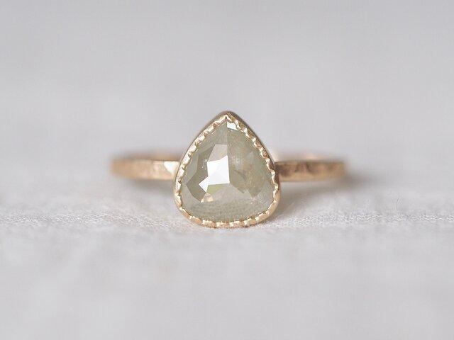 Pale Cloud Diamond Ringの画像1枚目