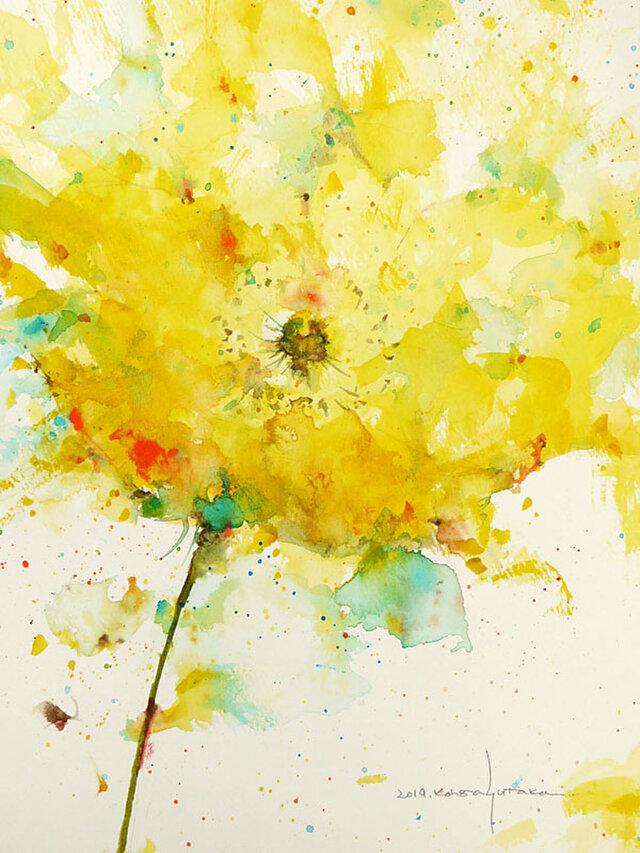 Flower 19 (額縁付き)の画像1枚目