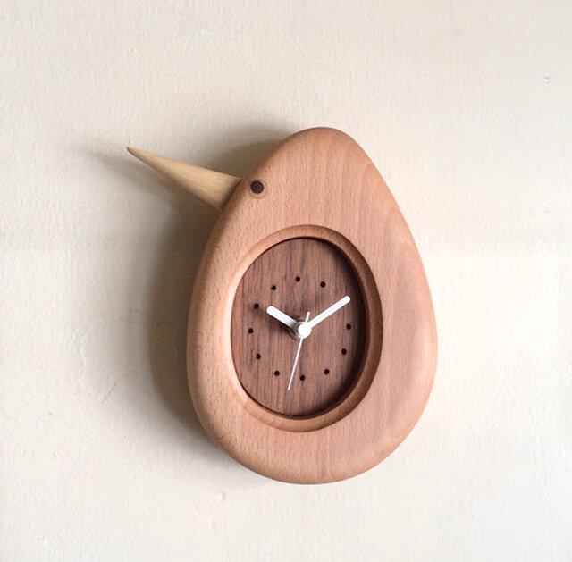 掛け時計 キウイの画像1枚目