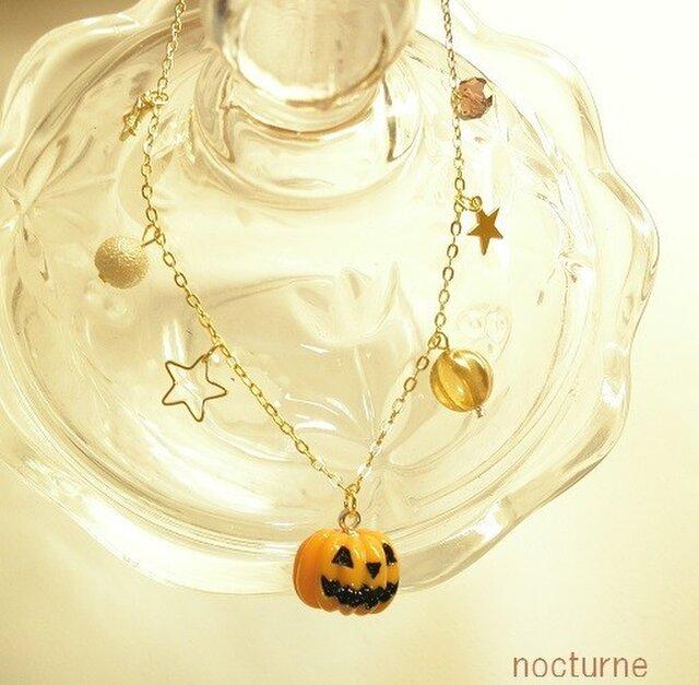 Halloween party~ハロウィンと星のネックレスの画像1枚目