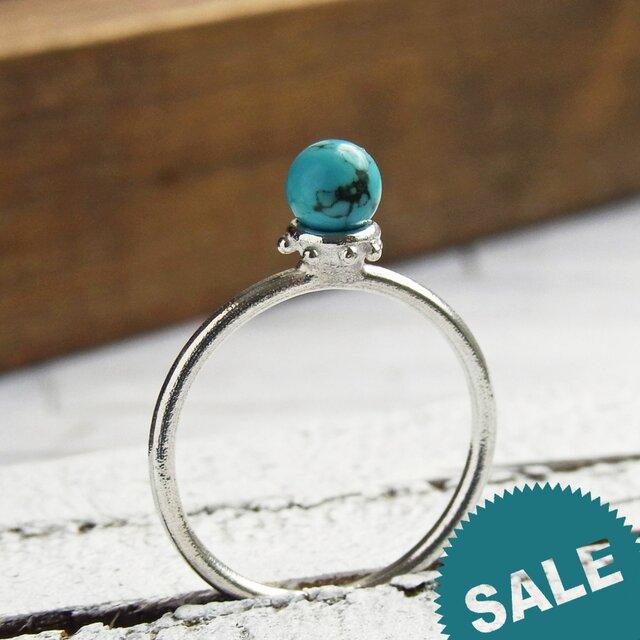 [SALE] ターコイズ Turquoise Ring ④の画像1枚目