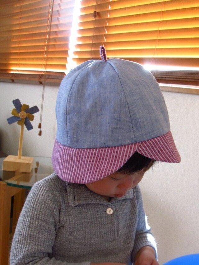 なすびみたいな帽子の画像1枚目