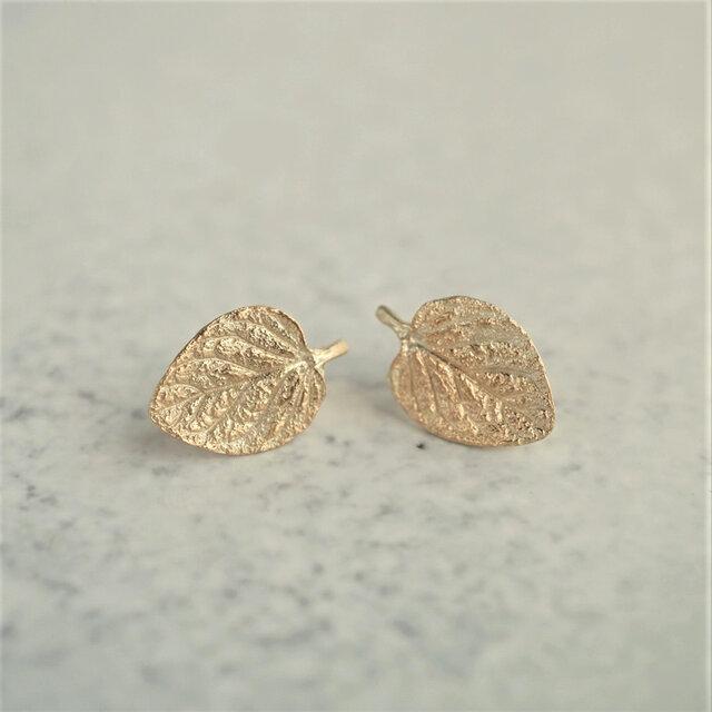 Marjoram stud earrings {EP062K10}の画像1枚目