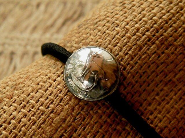#H104 UAE Coin Hair Elasticの画像1枚目