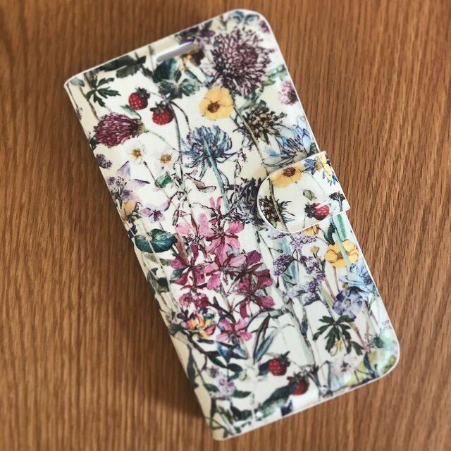 Liberty生地選べます♡iPhone6plus/6splus手帳型ケースの画像1枚目