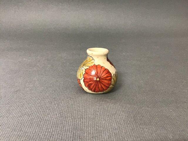 ミニ花器 菊の画像1枚目