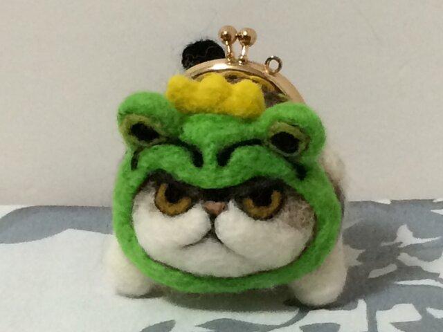 gamaneko チャペ  カエルの王様の画像1枚目