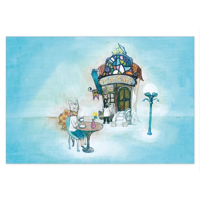 選べるポストカード/2枚セット『No.179 オリオンカフェ』の画像1枚目