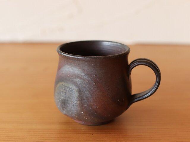 備前焼 コーヒーカップ(中) c2-176の画像1枚目