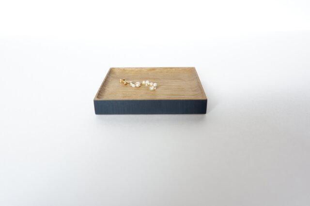 【送料無料】朴(ホオ)の木のアクセサリートレイの画像1枚目