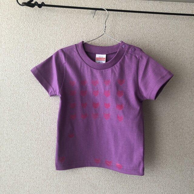 キッズTシャツ シルクスクリーン cat 90の画像1枚目