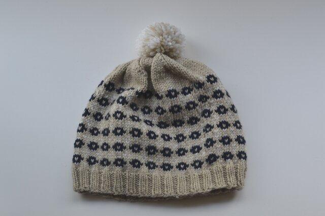 小花の帽子の画像1枚目