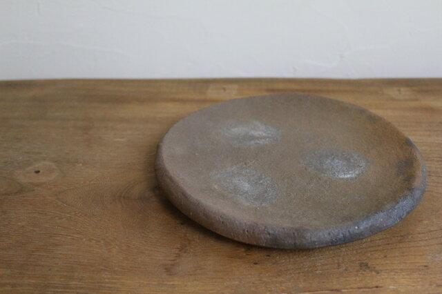 窯変 丸皿の画像1枚目