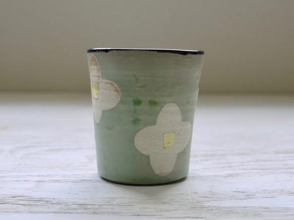 フリーカップ お花 aの画像1枚目