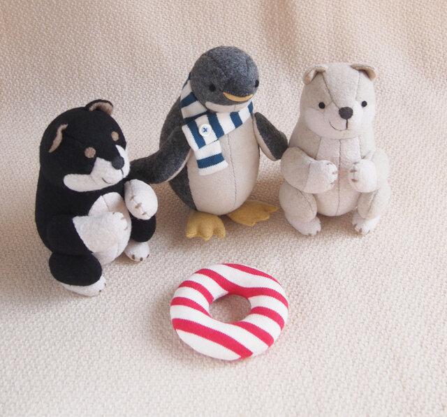 【りん様オーダー作品】ペンギンの子,他2点の画像1枚目
