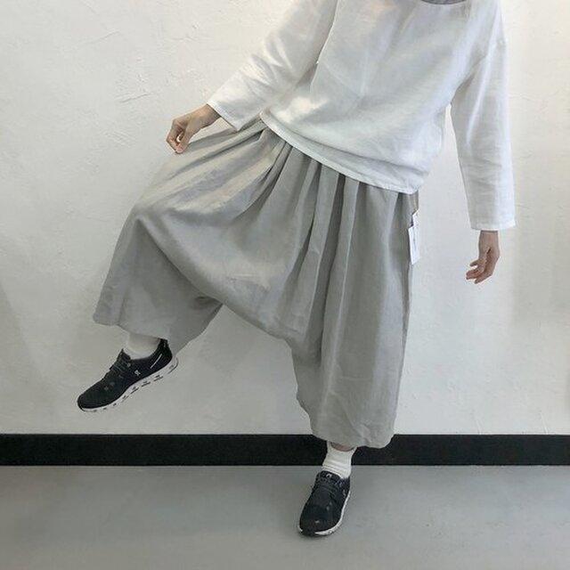 Come Pants | Stoneの画像1枚目