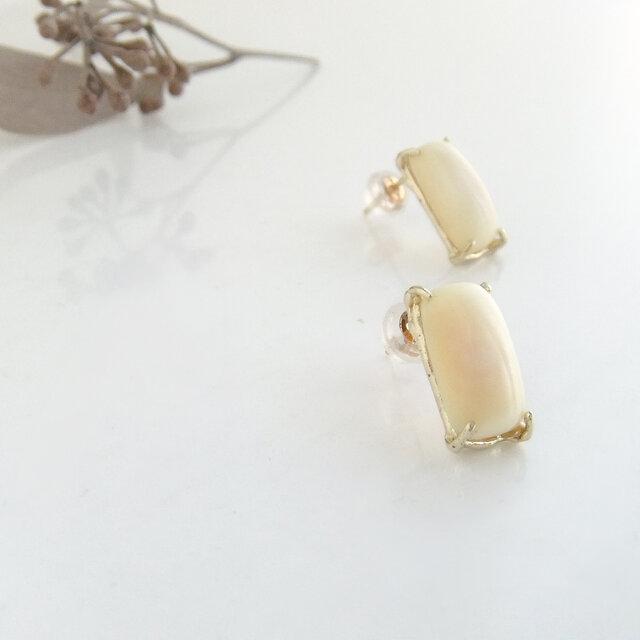k10✼Makkoh pierced earrings 92046の画像1枚目