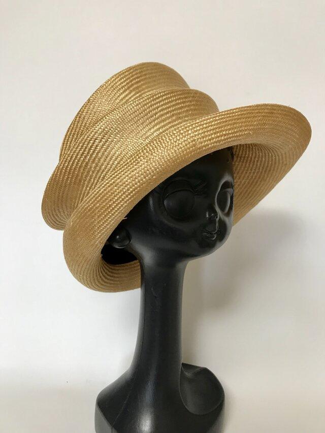 夏帽子(シゾール素材)の画像1枚目